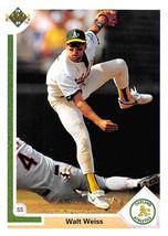 1991 Upper Deck #192 Walt Weiss NM-MT Athletics - $0.99