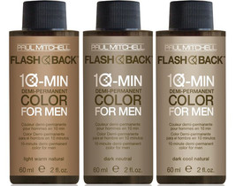 Paul Mitchell Flash Back 10-Min Color For Men 2oz (Dark Warm Natural) - $10.69