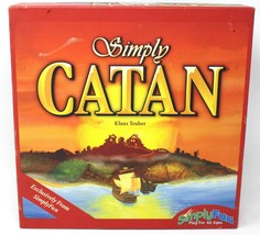 SIMPLY CATAN Simply Fun Board Game 2-4 Players Ages 10+  Simply fun  - $22.43