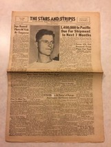 Stars and Stripes Newspaper Sep 29 1945 JapaneseBanned Photo of Visit By... - $20.00