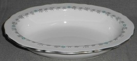 Spode Bone China Lyric Pattern Oval Vegetable Bowl Made In England - $23.75