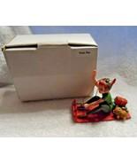 Disney Grolier Peter Pan Christmas Ornament w/Box   - $12.00