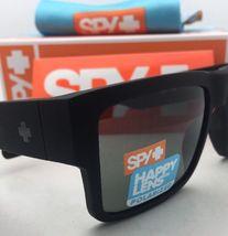 Polarisiert Spy Optic Sonnenbrille Cyrus Weich Matt Schwarz Rahmen W / Happy image 7