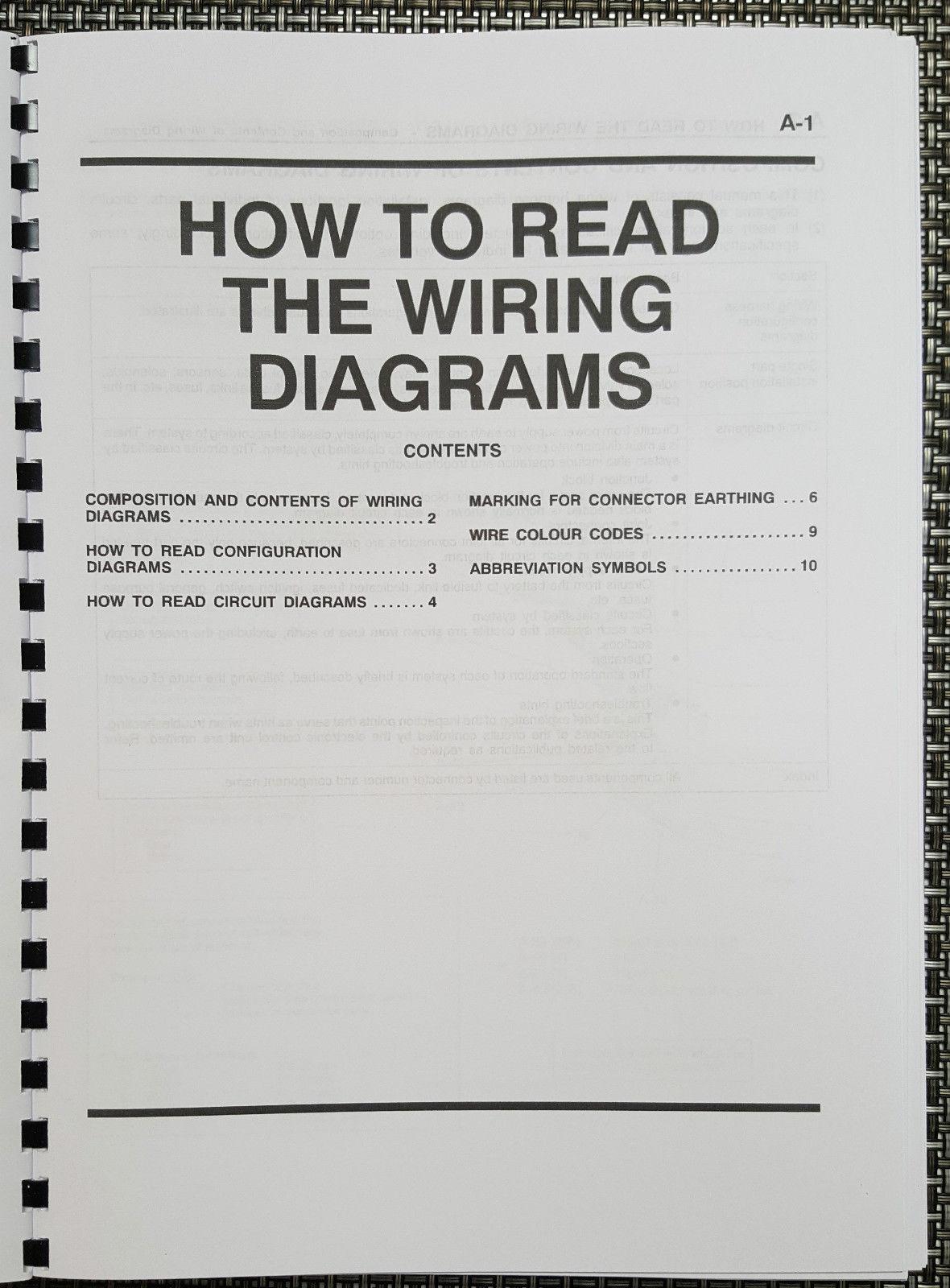 Mitsubishi Lancer Evo Vii Electrical Wiring And Similar Items Diagram Manual Reprinted Comb Bound