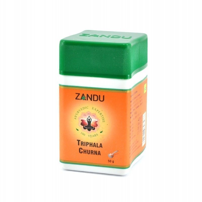 Ayurvedic Zandu Triphala Churna 50gm| Worldwide Free Shipping image 1