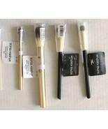 Sonia Kashuk Makeup Brush Collection 4 pc Eyeshadow Angled Crease Smudge... - $23.75