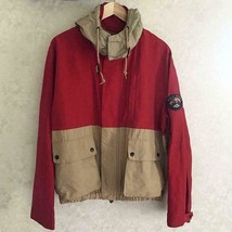 Polo Sport Ralph Lauren Authentic 1990's RED X BEIGE Jacket Mens Size M ... - $249.99