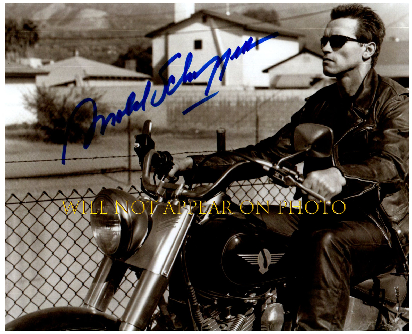 Primary image for ARNOLD SCHWARZENEGGER Signed Autographed Photo w/ Certificate of Authenticity 70