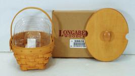 1999 Longaberger Classic Horizon of Hope Basket Lid Protector Cancer Soc... - $24.99