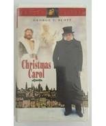 A Christmas Carol VHS 1995 Twentieth Century Fox Starring George C Scott  - $3.99