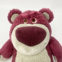 "Lotso Hugging Bear Disney Store Plush Toy Story 14"" Purple Grey - $10.70"