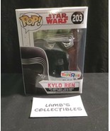 Pop Funko Star Wars Force Awakens Last Jedi #203 Toys R US Exclusive Kyl... - $29.62