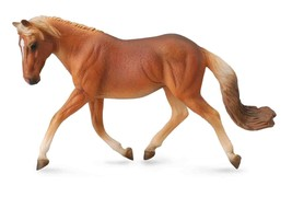 <><  Breyer CollectA 88519 Haflinger mare horse  well made - $9.65