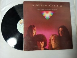 Ambrosia Somewhere I've Never Travelled Vinyl Record Vintage 1976 20th C... - $6.55