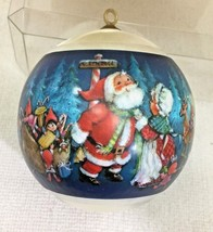 1981 Hallmark Christmas Ornament Santas Coming Great Shape w Box  H20 - $36.14
