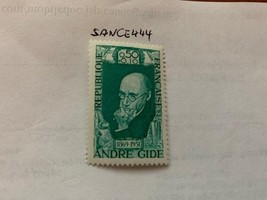 France Famous A. Gide author 1969 mnh stamps - $1.20