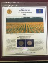 2005 Kansas Quarter P&D Mint Postal Commemorative Society - $5.79