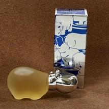 Vintage Avon BABY HIPPO Topaze Cologne 1 oz Glass Menagerie Bottle - NEW... - $13.98