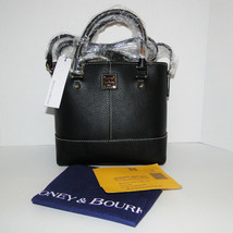 Dooney & Bourke MINI CHELSEA Pebble Crossbody Black NWT