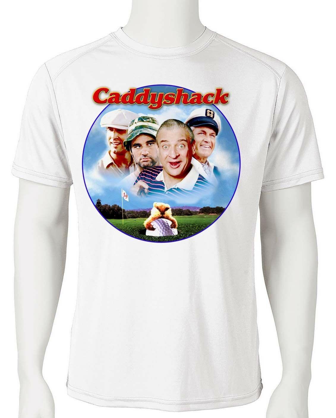 Caddyshack dri fit graphic tshirt moisture wicking golf 80s retro movie spf tee