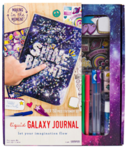 Making in the Moment Arts Craft Liquid Galaxy Spiral Subject Notebook Stationary