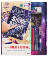 Making in the Moment Arts Craft Liquid Galaxy Spiral Subject Notebook St... - $10.95