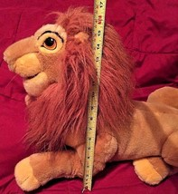 "Walt Disney Lion King Plush Reclined Adult Full Body Puppet 22"" Large EUC - $19.99"
