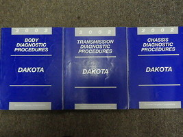 2002 Dodge Dakota Service Repair Shop Manual Diagnostic Set Factory Feo Books - $69.24