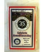 Seattle Mariners Salute to Armed Forces Day 2012 Coin - $4.94