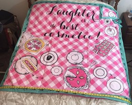Picnic Blanket Large Who Invited The Ants Print Summer Carrying Handles - €14,93 EUR