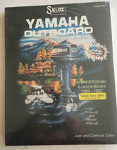 Yamaha Outboard Tune-up and Repair Manual 3-Cyl 1984-1988 Vol 2 - $17.11