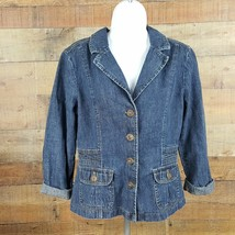DKNY Denim Jacket Women's Size M BB11 - $10.39