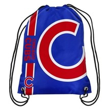CHICAGO CUBS DRAWSTRING SIDE STRIPE BACKPACK FREE SHIPPING BRAND NEW - ₹769.74 INR