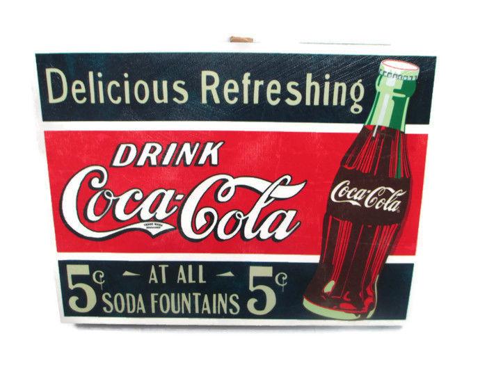 Coca-Cola Canvas Wall Art - Retro Drink and 47 similar items
