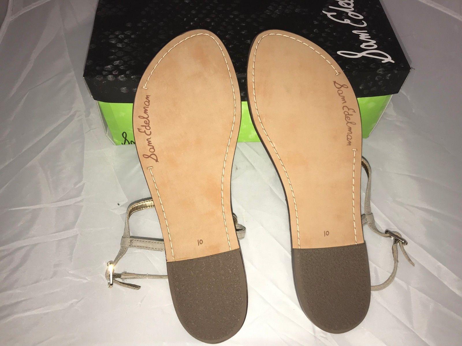 0851531e6 Sam Edelman Gig Bright multi strip thong sandal womens size 10