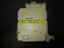 12 13 14 CAMRY JUNCTION RELAY #82730-06752 *See item*  - $37.13