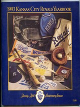 Kansas City Royals Baseball Yearbook MLB 1993 - $37.83