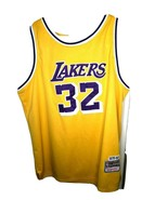 NBA Hardwood Classics VINTAGE Lakers #32 MAGIC JOHNSON JERSEY 1979-80 SZ XL - $85.59