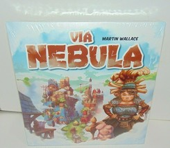 Via Nebula Board Game - Martin Wallace Ships FAST (see description) Thanks! - $9.70