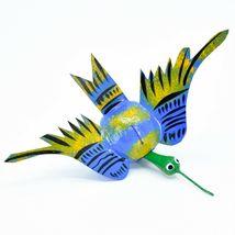 Oaxacan Alebrijes Folk Art Humming Bird Hummingbird Bobble Head Figure image 6