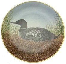 Danbury Mint water bird plate from the Sumner Collection - Great Norther... - $35.67