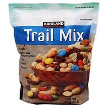 Kirkland Signature, Trail Mix, Peanuts, Raisins, Almonds and More ddxzY 4 Pound  - $69.29