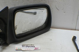 1996-1998 Jeep Cherokee Right Pass OEM Electric Side View Mirror 201 3M8 - $19.79