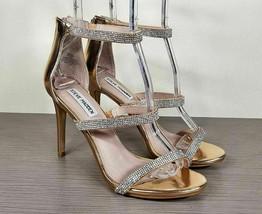 Steve Madden Smokin Sandal, Rose Gold, Womens Size 8.5 M - $37.79