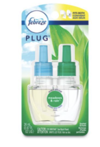 Febreze Plug In Scented Oil Refill, Morning & Dew, (.87 Fl. Oz.), Pack of 1 - $9.95