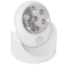 7LED Adjustable Motion Activated Sensor Cordless Light Indoor Outdoor Pa... - $10.90+