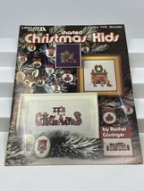 Christmas Kids - Leisure Arts #175 Cross Stitch Booklet - 1980 - $9.89