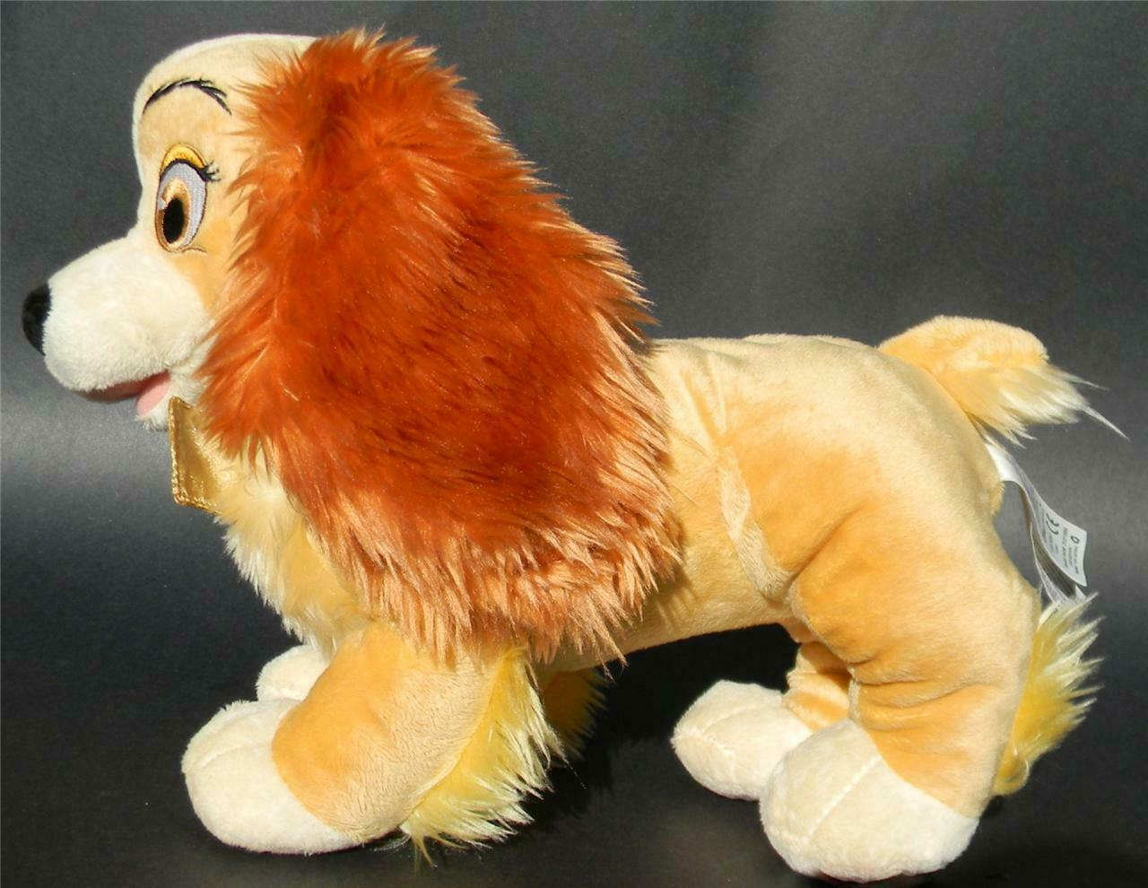 Primary image for Disney Store Plush Stuffed Lady Tramp Stuffed Animal Dog Cocker Spaniel NEW