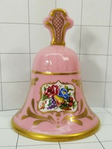 Franklin Mint Sonia Rose Bell Jeanne Holgate Pink  Collector Bell   #84 - $6.49