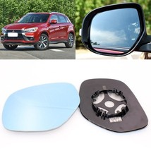 For Mitsubishi ASX 2013-2016 Side View Door Mirror Blue Glass With Base Heated - $42.71